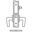 Accurate<br />8745 - Classroom Narrow Backset Lock