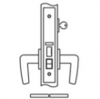 Accurate<br />8756 - Entrance or Office Narrow Backset Lock