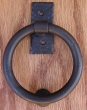 Agave Ironworks<br />KN015 - Smooth Ring Knocker