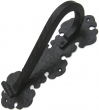 Agave Ironworks<br />PU027 - Gothic Scroll Back Door Pull