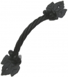 "Agave Ironworks<br />PU040 - Grapevine Small 15"" Door Pull"