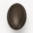 Alno<br />A1560-CHBRZ - 1 1/2&quot; OVAL KNOB