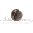 Ashley Norton<br />1082   - Half Button Door Stop  - 1/4&quot; Baseplate