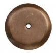 Ashley Norton<br />CKB.RD.1 3/4 - 1.75&quot; ROUND BACKPLATE