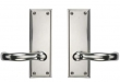 "Rectangular Suite 7 1/2"" x 2 1/2"" Escutcheons - Tubular Passage"