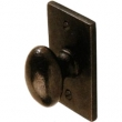 Ashley Norton<br />SQ114 - 1 1/2&quot; KNOB WITH SQUARE BACKPLATE
