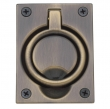 Baldwin<br />0395 - FLUSH RING PULL - 2.5&quot; x 3.3&quot;
