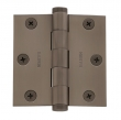 Baldwin<br />1030.I SOLID BRASS RESIDENTIAL - 3&quot; x 3&quot; SQUARE CORNER HINGE