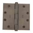 Baldwin<br />1045.I SOLID BRASS HEAVY DUTY - 4.5&quot; x 4.5&quot; SQUARE CORNER HINGE