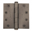 Baldwin<br />1046.I SOLID BRASS HEAVY DUTY - 4.5&quot; x 4.5&quot; BALL BEARING HINGE - PREMIUM FINISH