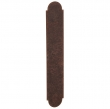 Baldwin<br />2262 - ARCHED PUSH PLATE - 3.5&quot; x 12&quot;