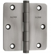 Baldwin<br />3.5 x 3.5 1/4&quot; Radius .093&quot; THICK SINGLE HINGE - 1435.151.I  Antique Nickel Residential, IN STOCK