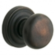 Baldwin<br />5015.112 CLASSIC KNOB W/ 5048 ROSE - Venetian Bron - Complete Pre-Configured Set With Knobs, Roses, Latch & 2 1/8 Adapter