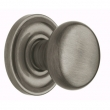 CLASSIC KNOB WITH 5048 ESTATE ROSE - Antique Nickel