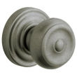 Baldwin<br />5020.452 - COLONIAL KNOB WITH 5048 ESTATE ROSE - Distressed Antique Nickel