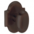 Baldwin<br />5024.112 - OVAL KNOB WITH R030 ARCHED ROSE - Venetian Bronze