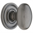 Baldwin<br />5025.151 - EGG KNOB WITH 5048 ESTATE ROSE - ANTIQUE NICKEL