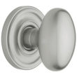 Baldwin<br />5025.264 - EGG KNOB WITH 5048 ESTATE ROSE - Satin Chrome