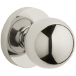 Baldwin<br />5041.055 - CONTEMPORARY KNOB WITH 5046 CONTEMPORARY ROSE - Lifetime Polished Nickel