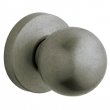 Baldwin<br />5041.452 - CONTEMPORARY KNOB WITH 5046 CONTEMPORARY ROSE - Distressed Antique Nickel