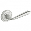 Baldwin<br />5440V.264 - COLONIAL LEVER WITH 5048 ESTATE ROSE - Satin Chrome
