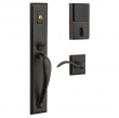 Baldwin<br />6403 BLFD - Evolved Cody Full Escutcheon Dummy Set with Interior Lever - Left Hand