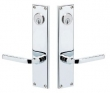 "Baldwin<br />6513.KC/6513.KC - MINNEAPOLIS DOUBLE CYLINDER MORTISE ENTRY - 2 1/4"" X 10"""