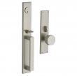 Baldwin<br />6570 - ATLANTA MORTISE ENTRY SET - 2 1/4&quot; X 16&quot; EXTERIOR