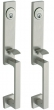 Baldwin<br />6608 - NEW YORK BACK-TO-BACK MORTISE ENTRY - 1 5/8&quot; X 14&quot;