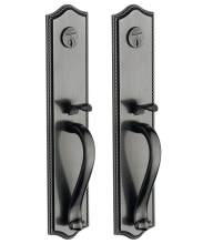 Baldwin -  BRISTOL BACK-TO-BACK MORTISE ENTRY SET - 3 1/2