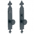 "RICHMOND SINGLE CYLINDER MORTISE ENTRY SET - 2"" X 12"""