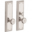 Baldwin<br />6796.KE/6796.KT - TREMONT PRIVACY SET WITH TURN KNOB - 3 5/16&quot; X 11&quot;