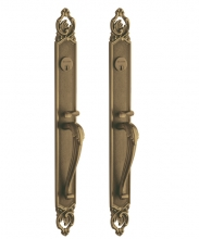 Baldwin - VICTORIA BACK-TO-BACK MORTISE ENTRY SET - 2 1/2