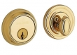 Baldwin<br />8031.003 Single Cylinder Deadbolt IN STOCK  - Traditional Deadbolt Lifetime Polished Brass