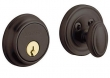 Baldwin<br />8031.112 Single Cylinder Deadbolt IN STOCK - Traditional Style Venetian Bronze