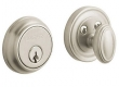 Baldwin<br />8031.150  Single Cylinder Deadbolt IN STOCK  - Traditional Deadbolt Satin Nickel
