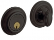 Baldwin<br />8231.102 Single Cylinder Deadbolt IN STOCK - Traditional Deadbolt Oil Rubbed Bronze