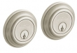 Baldwin<br />8232.150 Double Cylinder Deadbolt IN STOCK  - Traditional Deadbolt Satin Nickel