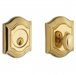 Baldwin<br />8237.003 - BETHPAGE DEADBOLT FOR 2 1/8&quot; DOOR PREP - LIFETIME POLISHED BRASS