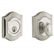 Baldwin<br />8237.055 - BETHPAGE DEADBOLT FOR 2 1/8&quot; DOOR PREP - LIFETIME POLISHED NICKEL