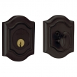 Baldwin<br />8237.102 - BETHPAGE DEADBOLT FOR 2 1/8&quot; DOOR PREP - OIL RUBBED BRONZE