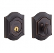 Baldwin<br />8237.112 - BETHPAGE DEADBOLT FOR 2 1/8&quot; DOOR PREP - VENETIAN BRONZE