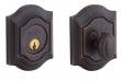 Baldwin<br />8237.112 Single Cylinder Deadbolt IN STOCK  - Bethpage Deadbolt Venetian Bronze