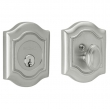 Baldwin<br />8237.264 - BETHPAGE DEADBOLT FOR 2 1/8&quot; DOOR PREP - SATIN CHROME