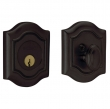 Baldwin<br />8237.402 - BETHPAGE DEADBOLT FOR 2 1/8&quot; DOOR PREP - DISTRESSED OIL RUBBED BRONZE