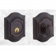 Baldwin<br />8237.412 - BETHPAGE DEADBOLT FOR 2 1/8&quot; DOOR PREP - DISTRESSED VENETIAN BRONZE