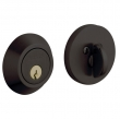 Baldwin<br />8241.102 - CONTEMPORARY DEADBOLT FOR 2 1/8&quot; DOOR PREP - OIL RUBBED BRONZE
