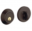 Baldwin<br />8241.112 - CONTEMPORARY DEADBOLT FOR 2 1/8&quot; DOOR PREP - VENETIAN BRONZE