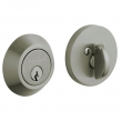 Baldwin<br />8241.151 - CONTEMPORARY DEADBOLT FOR 2 1/8&quot; DOOR PREP - ANTIQUE NICKEL