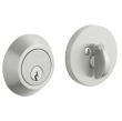 Baldwin<br />8241.264 - CONTEMPORARY DEADBOLT FOR 2 1/8&quot; DOOR PREP - SATIN CHROME